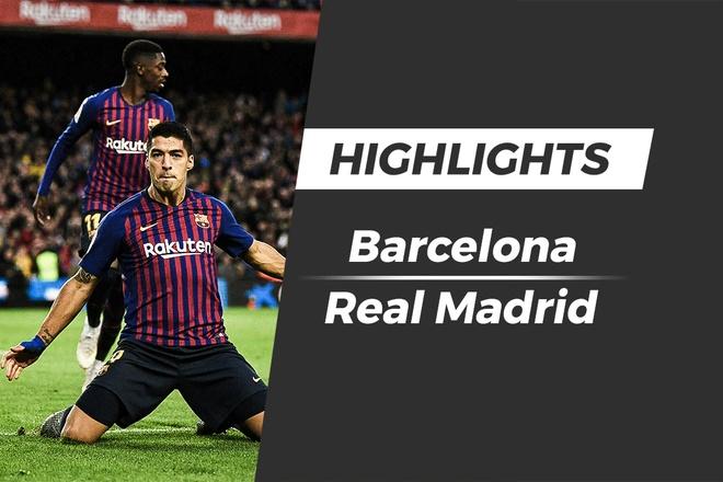 Highlights Barcelona 5-1 Real Madrid hinh anh