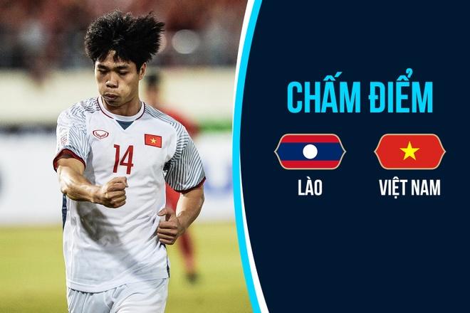Cham diem Lao vs Viet Nam: Xuan Truong tien bo, Cong Phuong hay nhat hinh anh