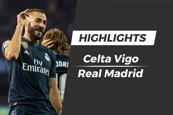 Highlights Celta Vigo 2-4 Real Madrid hinh anh