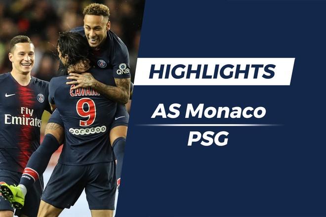 Highlights Monaco 0-4 PSG: Cavani lap hat-trick hinh anh