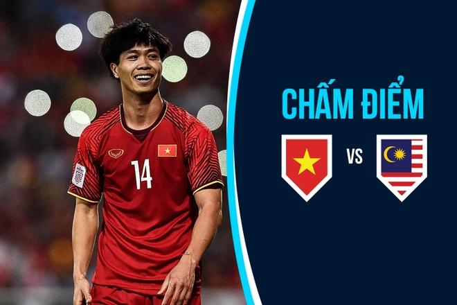 Cham diem Viet Nam vs Malaysia: Cong Phuong noi bat, Anh Duc dang cap hinh anh