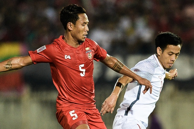 Cham diem Myanmar vs Viet Nam: Doi truong Van Quyet gay that vong hinh anh