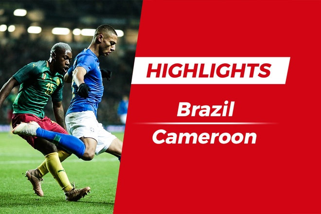 Highlights Brazil 1-0 Cameroon: 'Ke dong the' len tieng hinh anh
