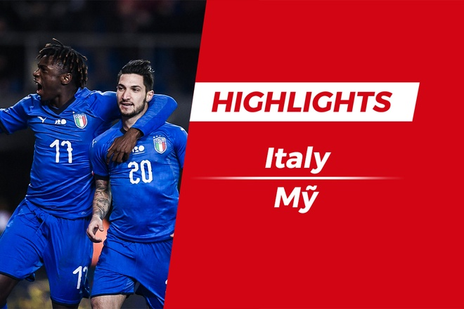 Highlights Italy 1-0 USA: Kịch tính phút 90+4