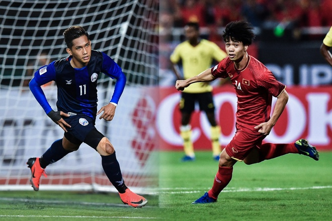 Tuyen Viet Nam toan thang Campuchia trong lich su AFF Cup hinh anh