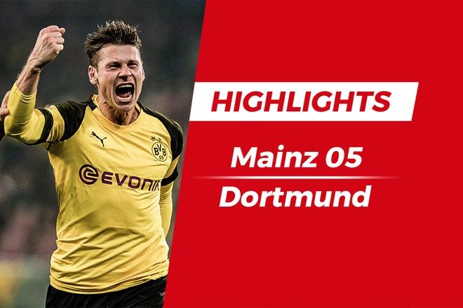 Highlights Dortmund danh bai Mainz 05 nho ban thang sut xa hinh anh