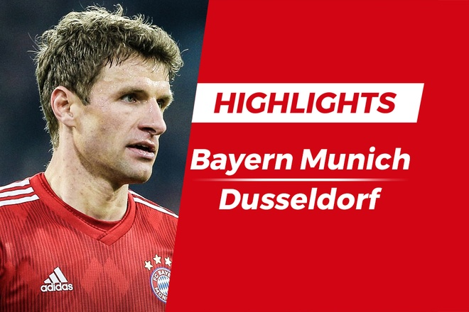 Highlights Bayern chia diem voi Dusseldorf tren san nha hinh anh