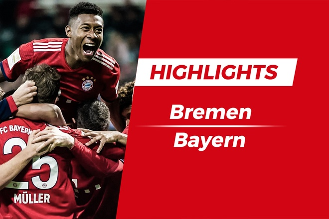 Highlights Werder Bremen vs Bayern Munich: 'Nguoi cu' toa sang hinh anh