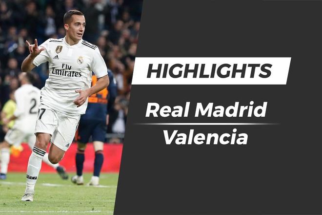 Highlights Real Madrid vs Valencia: Ban phan luoi oan nghiet hinh anh