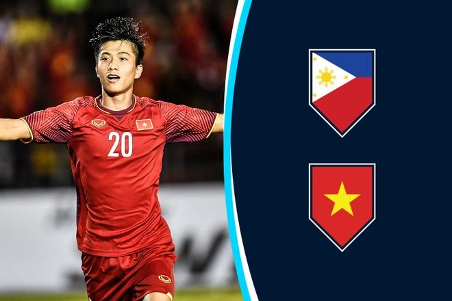 Cham diem Philippines vs Viet Nam: 'Song Duc' hay nhat tran hinh anh