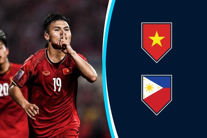 Cham diem Viet Nam vs Philippines: Quang Hai ruc sang hinh anh