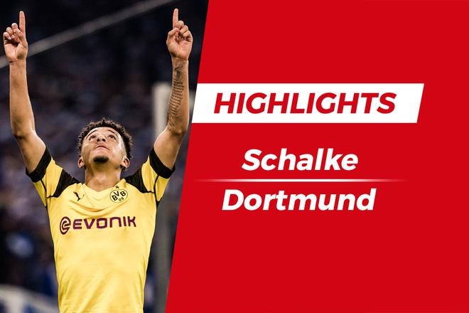 Highlights Schalke 1-2 Dortmund: Sao tre 18 tuoi toa sang hinh anh