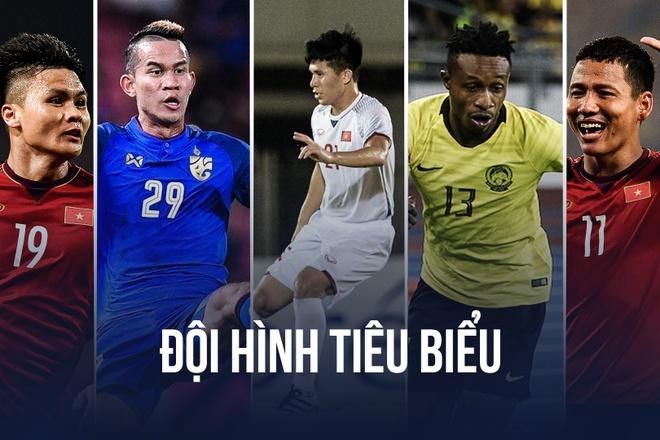Viet Nam ap dao trong doi hinh tieu bieu AFF Cup 2018 hinh anh