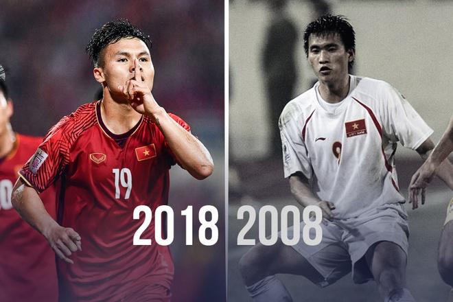 Cong Vinh sat canh Quang Hai trong doi hinh Viet Nam ket hop 2008-2018 hinh anh