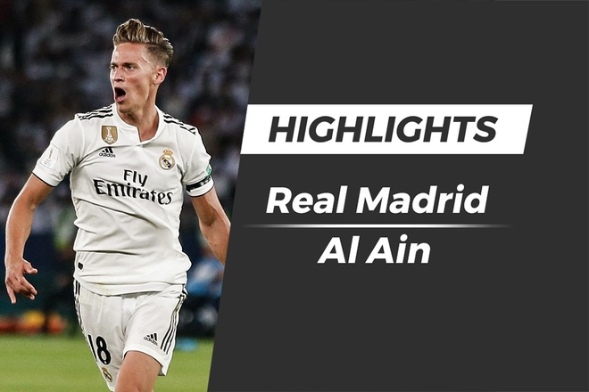 Highlights Real Madrid 4-1 Al Ain: Chung ket FIFA Club World Cup hinh anh
