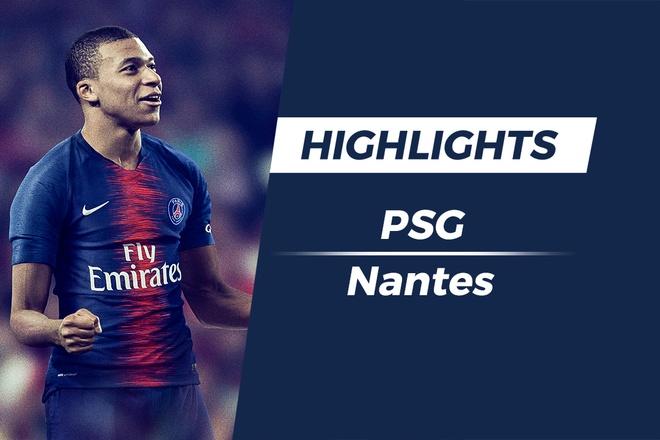 Highlights PSG 1-0 Nantes: Mbappe toa sang hinh anh