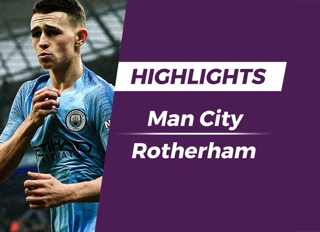 Highlights Man City 7-0 Rotherham United hinh anh