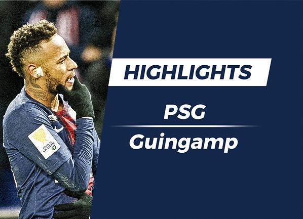 Highlights PSG 1-2 Guingamp hinh anh