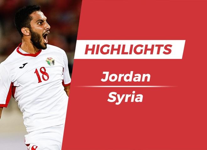 Highlights Asian Cup 2019: Jordan 2-0 Syria hinh anh