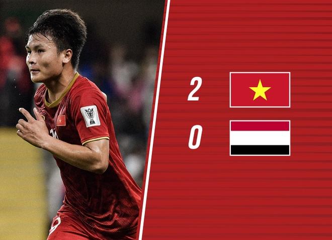 Cham diem Viet Nam 2-0 Yemen: 'Song Hai' hay nhat tran hinh anh