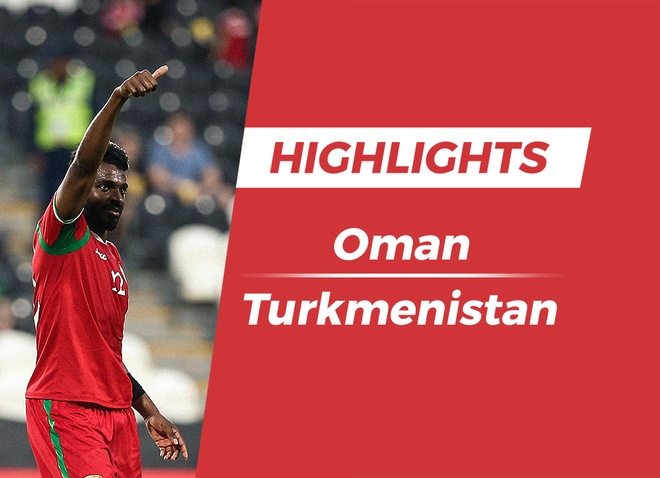 Highlights Asian Cup 2019: Oman 3-1 Turkmenistan hinh anh