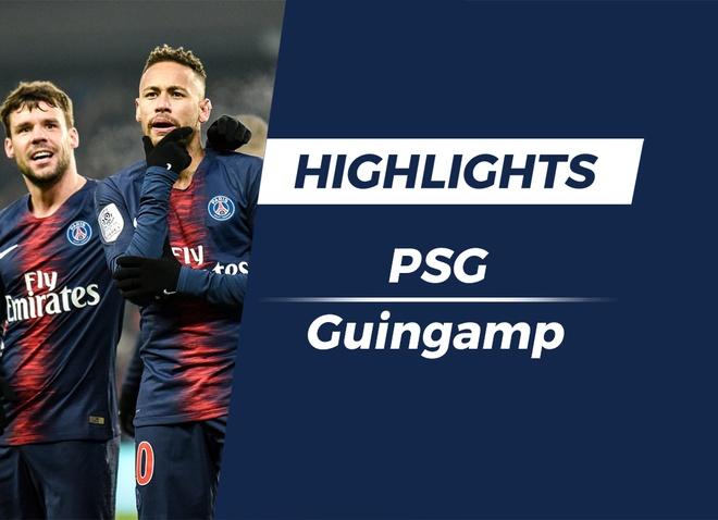 Highlights PSG 9-0 Guingamp hinh anh