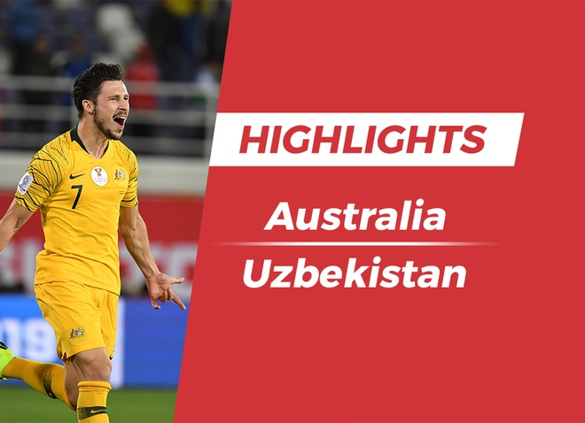 Highlights Asian Cup 2019: Australia 0-0 Uzbekistan (pen, 4-2) hinh anh