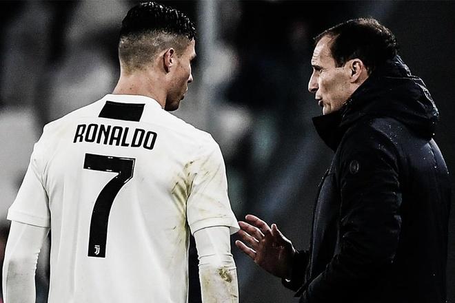 HLV Allegri: 'Ronaldo la tuong lai cua Juventus' hinh anh