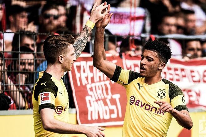 Highlights Bundesliga: Freiburg 0-4 Dortmund hinh anh