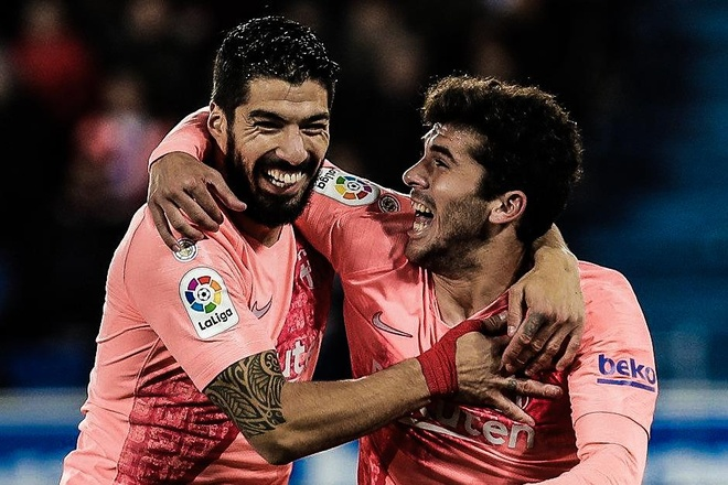 Highlights La Liga: Alaves 0-2 Barcelona hinh anh
