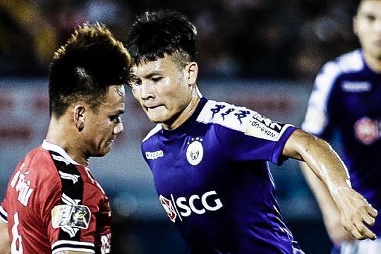 Highlights V.League: CLB Binh Duong 2-2 CLB Ha Noi hinh anh