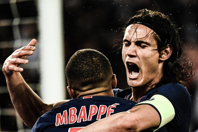 Mbappe ghi ban, PSG van thua tran cuoi mua giai hinh anh