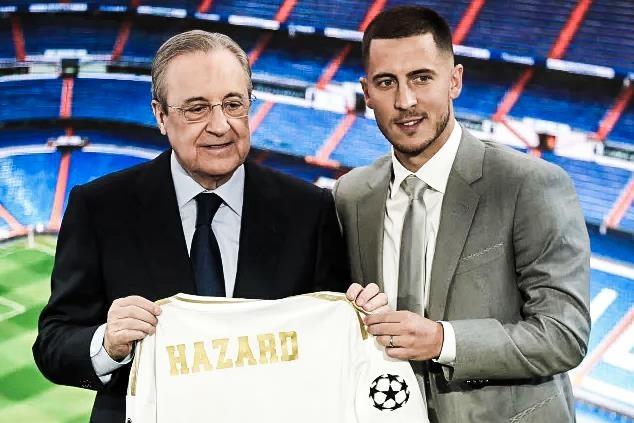 Real de trong so ao cua Hazard trong ngay ra mat hinh anh