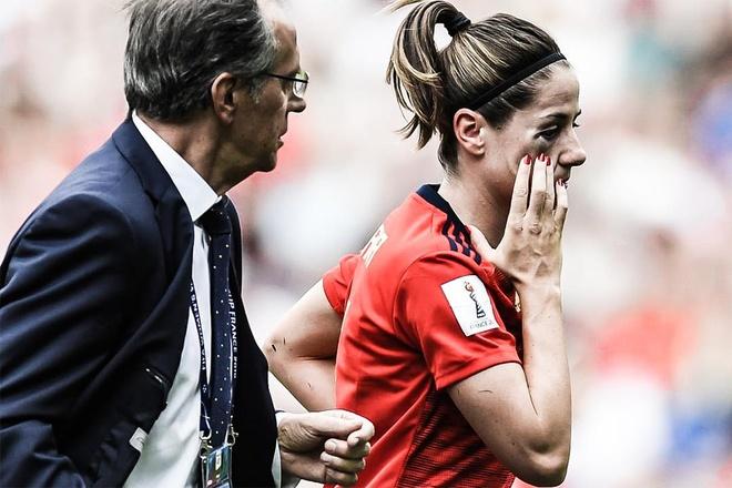 Tay Ban Nha bi My loai khoi World Cup nu vi hai qua phat den hinh anh