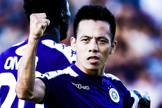 Quang Hai kien tao cho Van Quyet volley ghi ban vao luoi CLB Sai Gon hinh anh