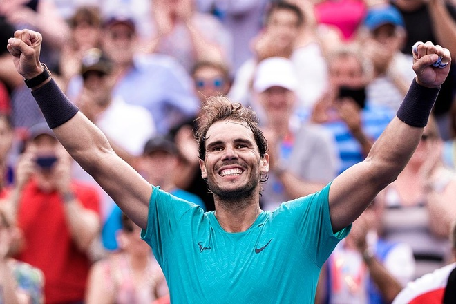 Nadal lan thu nam gianh chuc vo dich Rogers Cup hinh anh