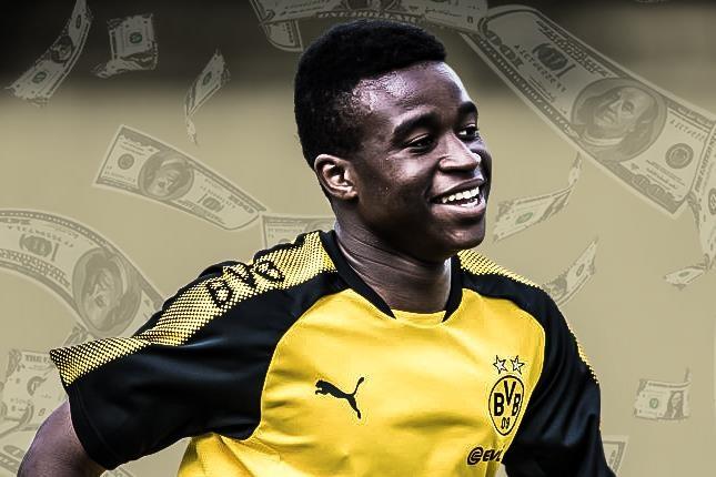 Sao tre Dortmund kiem 10 trieu euro o tuoi 14 hinh anh