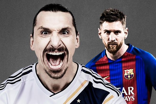 Ibrahimovic, Messi vao top 10 ung vien ghi ban dep nhat nam hinh anh