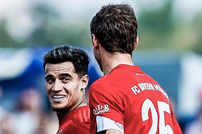 Coutinho ghi ban dau tien cho Bayern hinh anh