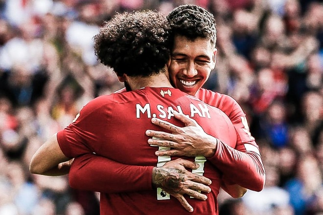 Firmino giat got kien tao cho Salah ghi ban hinh anh