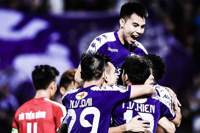 Highlights CLB Ha Noi 5-2 Viettel hinh anh