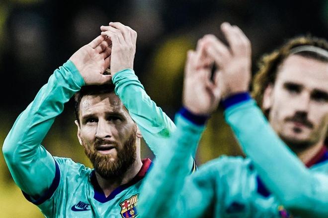 Griezmann: 'Rat kho de bat chuyen voi Messi' hinh anh