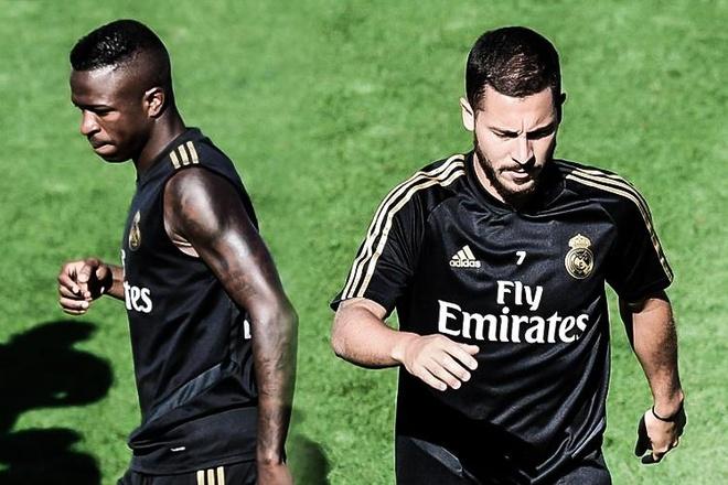 Nghi van Hazard mau thuan voi Vinicius o Real hinh anh