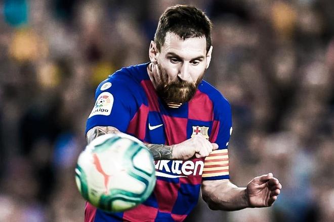 Messi sut phat tung luoi Sevilla trong tran Barca thang 4-0 hinh anh