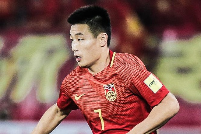 Trung Quoc de bep Dao Guam 7-0 o vong loai World Cup hinh anh