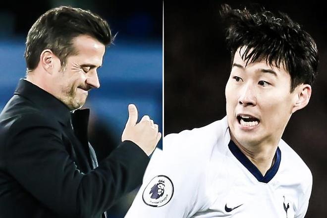 HLV Everton: 'Son Heung-min khong co y choi xau' hinh anh
