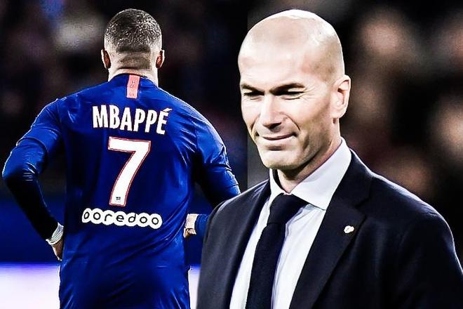 HLV Zidane: 'Uoc mo cua Mbappe la toi Real' hinh anh