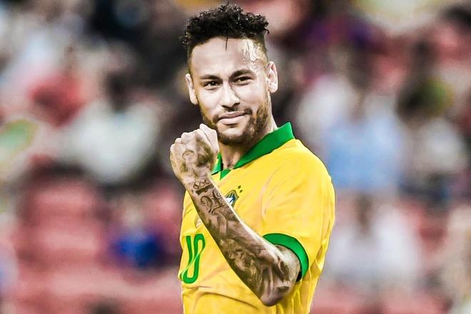 Neymar tro lai sau chan thuong hinh anh