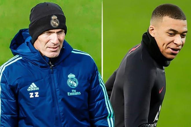 HLV Zidane bi nhac nho vi to y muon chieu mo Mbappe hinh anh