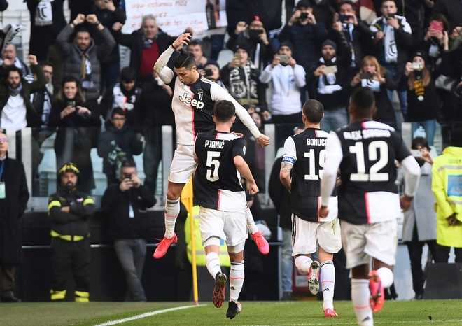 Juventus 3-0 Fiorentina: Ronaldo lap cu dup tu cham phat den hinh anh 1 2020_02_02T122620Z_2070608751_RC2CSE9OFIRW_RTRMADP_3_SOCCER_ITALY_JUV_FIO_REPORT.JPG